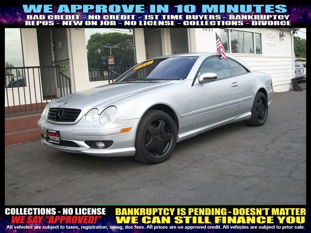 2001 MERCEDES-BENZ CL-CLASS CL500 2DR COUPE silver  welcome take a test drive or call us if yo