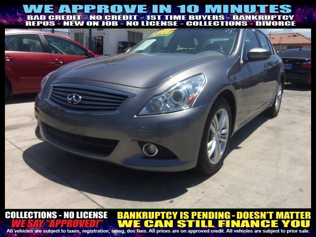 2011 INFINITI G25 SEDAN charcoal  welcome take a test drive or call us if you have any questio