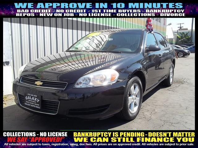 2008 CHEVROLET IMPALA LT SEDAN black  welcome take a test drive or call us if you have any que