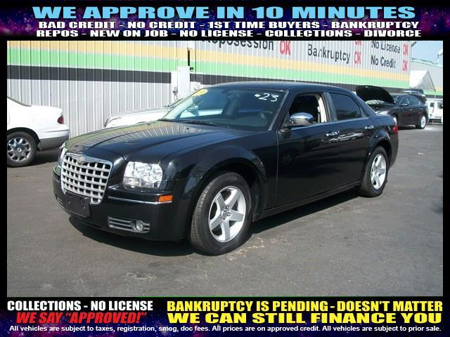 2010 CHRYSLER 300 TOURING 4DR SEDAN W23E black  welcome take a test drive or call us if you h