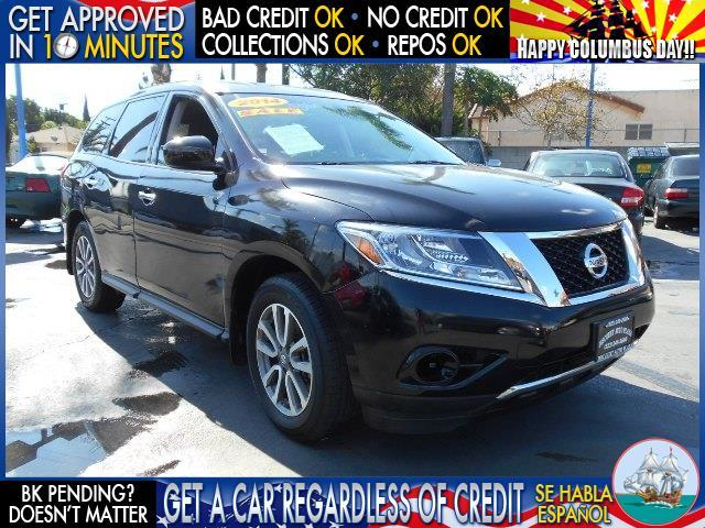 2014 NISSAN PATHFINDER black  welcome take a test drive or call us if you have any questions