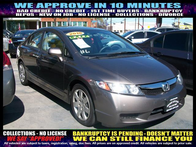 2010 HONDA CIVIC LX 4DR SEDAN 5A brown  welcome take a test drive or call us if you have any q