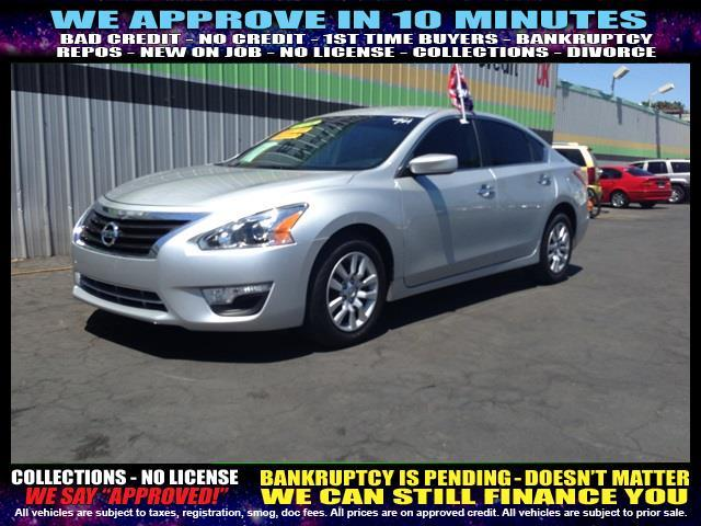 2013 NISSAN ALTIMA silver welcome take a test drive or call us if you have any questions you