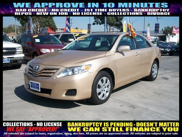 2011 TOYOTA CAMRY gold welcome take a test drive or call us if you have any questions you won