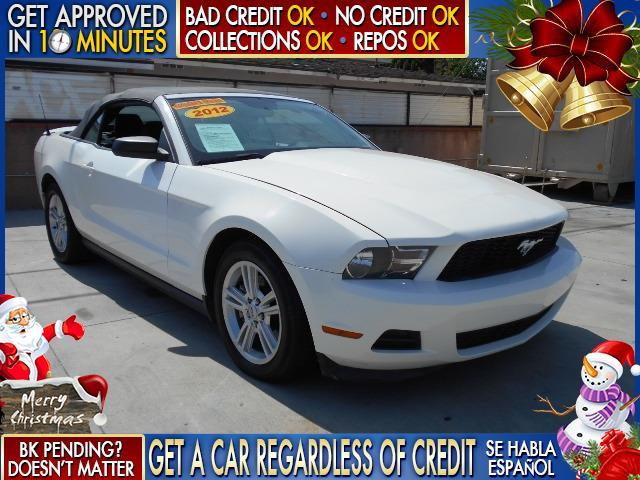 2012 FORD MUSTANG white  welcome take a test drive or call us if you have any questions you