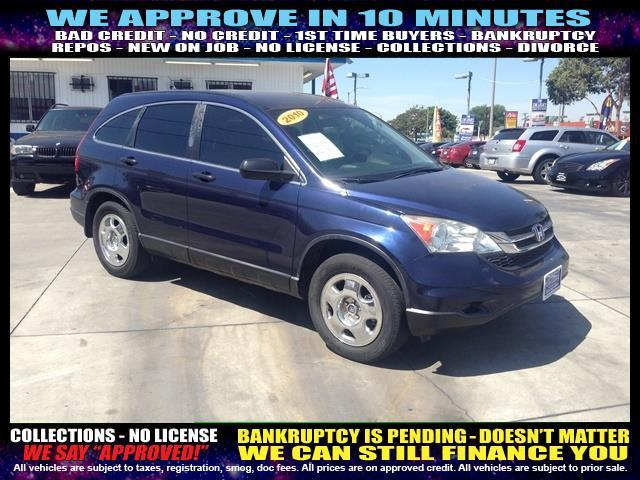 2010 HONDA CR-V LX 4DR SUV blue welcome take a test drive or call us if you have any question