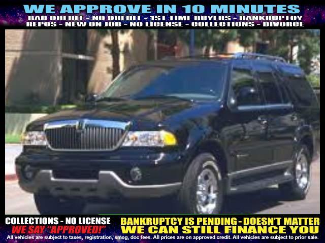 2002 LINCOLN NAVIGATOR BASE 2WD 4DR SUV black welcome take a test drive or call us if you hav