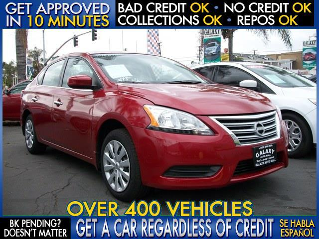 2014 NISSAN SENTRA red  welcome take a test drive or call us if you have any questions you w