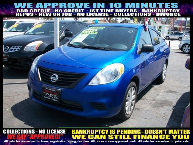2013 NISSAN VERSA 16 S 4DR SEDAN 4A blue welcome take a test drive or call us if you have an