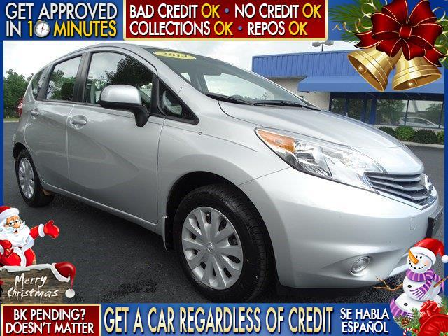 2014 NISSAN VERSA NOTE silver  welcome take a test drive or call us if you have any questions