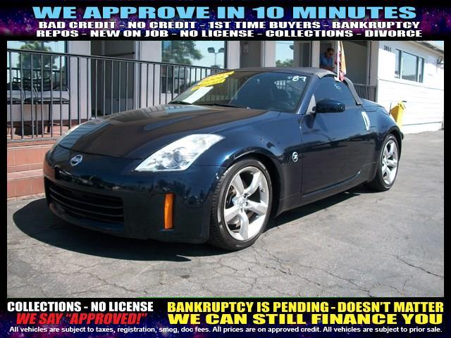 2008 NISSAN 350Z blue  welcome take a test drive or call us if you have any questions you wo
