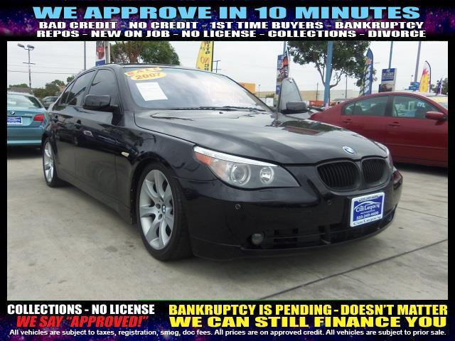 2007 BMW 5 SERIES 550I 4DR SEDAN charcoal  welcome take a test drive or call us if you have an