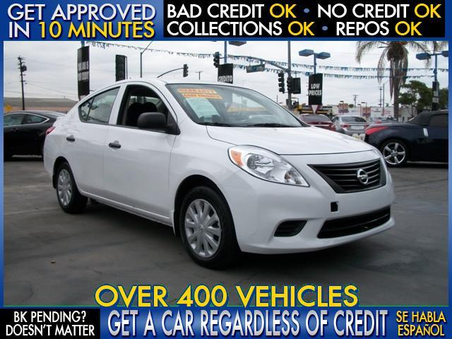 2014 NISSAN VERSA 16 S 4DR SEDAN 4A white welcome take a test drive or call us if you have a