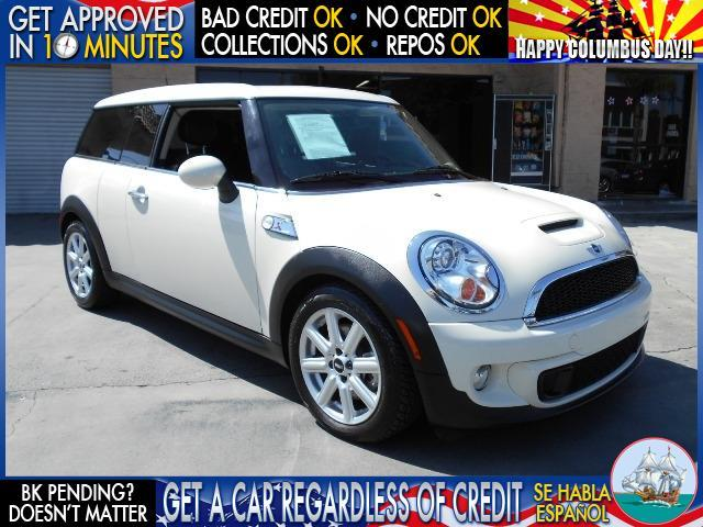 2011 MINI COOPER CLUBMAN S 3DR WAGON white  welcome take a test drive or call us if you have a