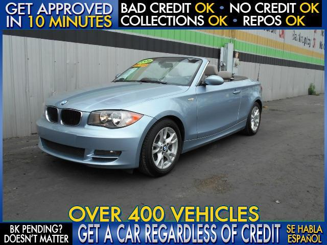 2009 BMW 1 SERIES 128I 2DR CONVERTIBLE blue  welcome take a test drive or call us if you have