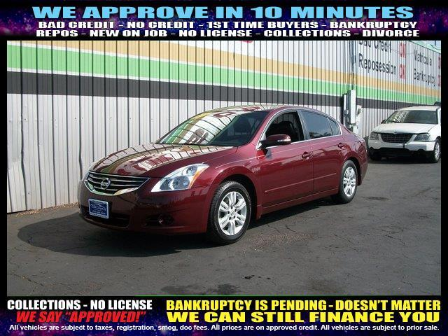 2011 NISSAN ALTIMA red welcome take a test drive or call us if you have any questions you won