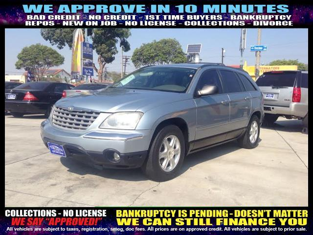 2006 CHRYSLER PACIFICA TOURING 4DR WAGON light blue  welcome take a test drive or call us if y
