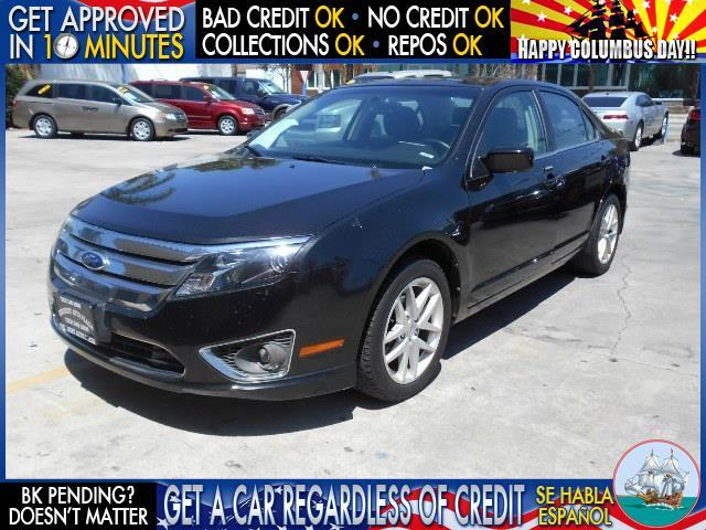 2012 FORD FUSION SEL 4DR SEDAN black  welcome take a test drive or call us if you have any que