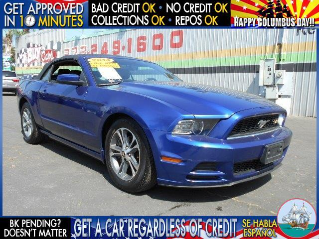 2014 FORD MUSTANG blue  welcome take a test drive or call us if you have any questions you w