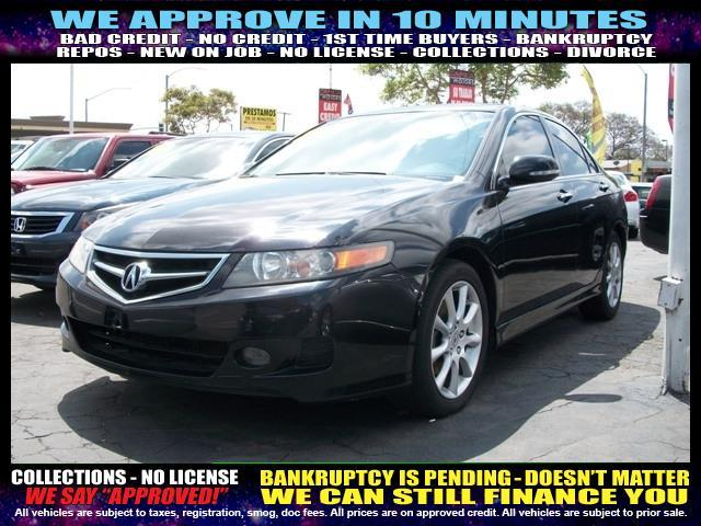2007 ACURA TSX BASE 4DR SEDAN black  welcome take a test drive or call us if you have any ques