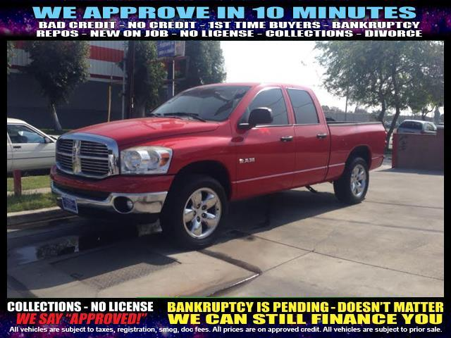 2008 DODGE RAM PICKUP 1500 red  welcome take a test drive or call us if you have any questions