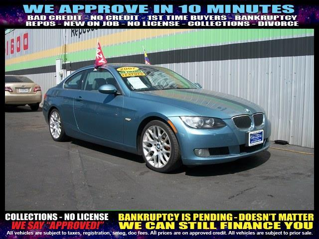 2007 BMW 3 SERIES 328I 2DR COUPE blue  welcome take a test drive or call us if you have any qu