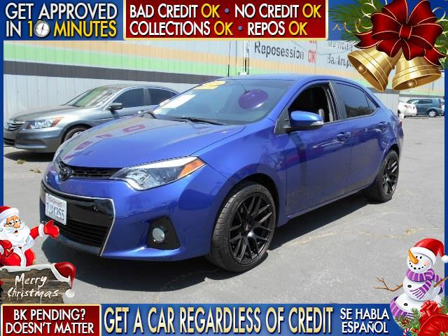 2015 TOYOTA COROLLA L 4DR SEDAN 4A blue  welcome take a test drive or call us if you have any