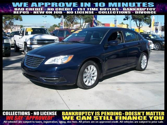 2013 CHRYSLER 200 TOURING 4DR SEDAN black welcome take a test drive or call us if you have any
