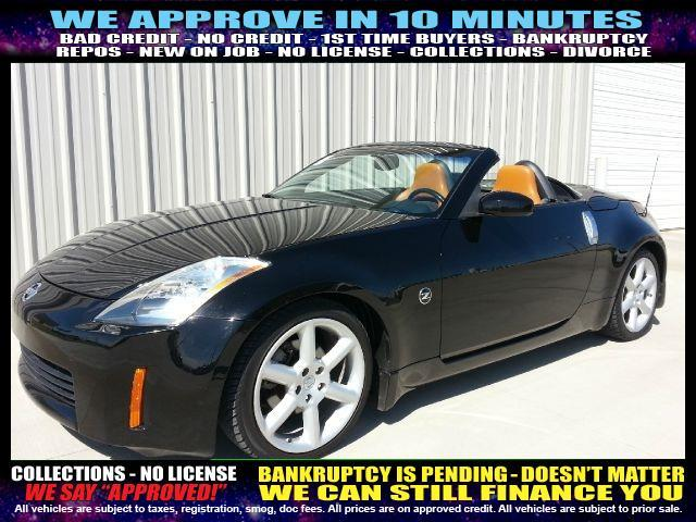 2006 NISSAN 350Z black welcome take a test drive or call us if you have any questions you w