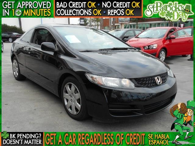 2011 HONDA CIVIC LX 2DR COUPE 5A black  welcome take a test drive or call us if you have any q