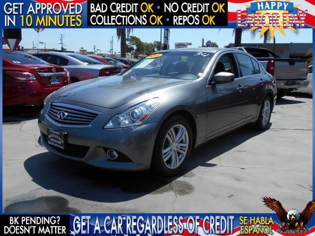 2011 INFINITI G25 SEDAN JOURNEY 4DR SEDAN gray  welcome take a test drive or call us if you ha