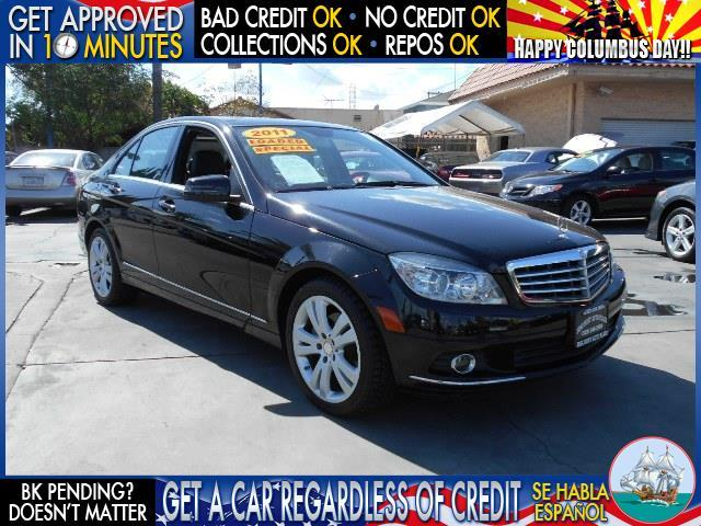 2011 MERCEDES-BENZ C-CLASS black  welcome take a test drive or call us if you have any questio