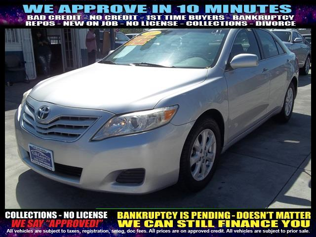 2011 TOYOTA CAMRY silver welcome take a test drive or call us if you have any questions you w