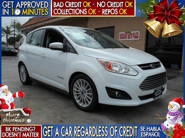 2013 FORD C-MAX HYBRID SEL 4DR WAGON white  welcome take a test drive or call us if you have a