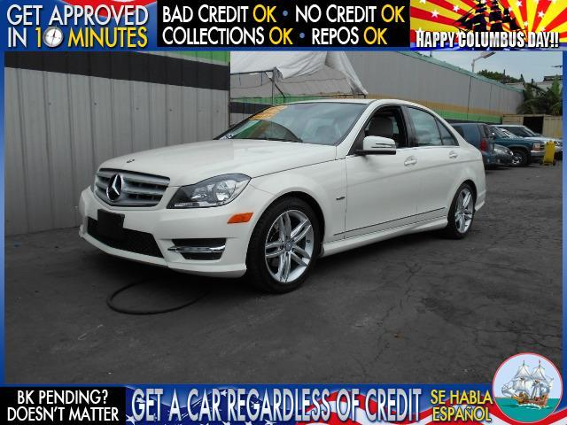 2012 MERCEDES-BENZ C-CLASS white  welcome take a test drive or call us if you have any questio