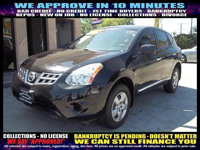 2011 NISSAN ROGUE black  welcome take a test drive or call us if you have any questions you