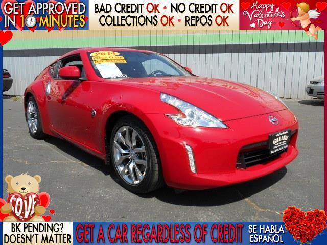2014 NISSAN 370Z red  welcome take a test drive or call us if you have any questions you won