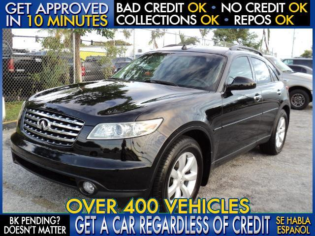 2003 INFINITI FX35 BASE RWD 4DR SUV gray welcome take a test drive or call us if you have any