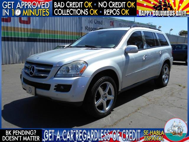 2007 MERCEDES-BENZ GL-CLASS GL450 AWD 4MATIC 4DR SUV silver  welcome take a test drive or call
