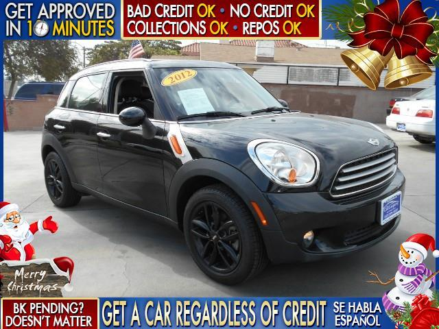 2012 MINI COOPER COUNTRYMAN BASE 4DR CROSSOVER black  welcome take a test drive or call us if