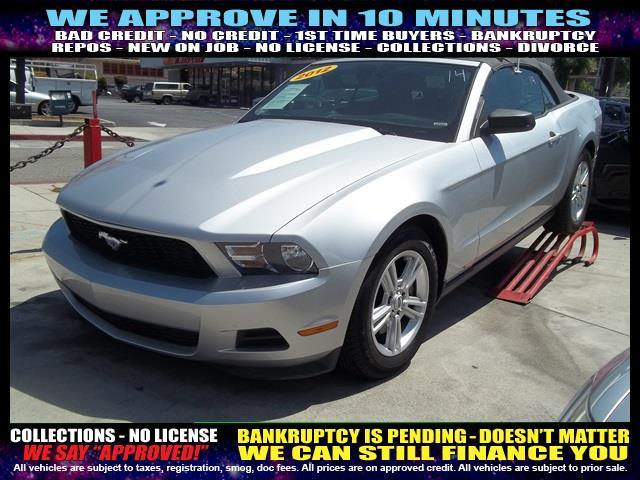 2012 FORD MUSTANG silver  welcome take a test drive or call us if you have any questions you