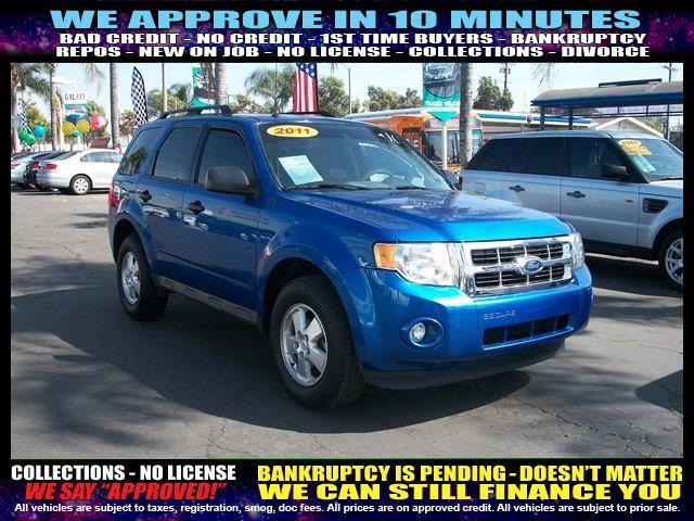 2011 FORD ESCAPE XLT 4DR SUV blue  welcome take a test drive or call us if you have any questi