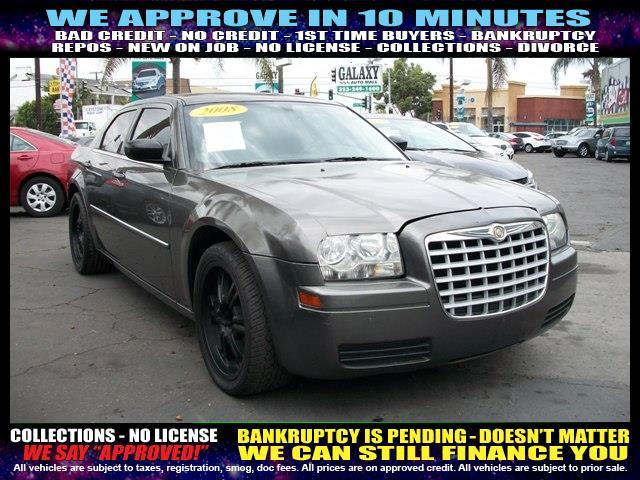 2008 CHRYSLER 300 LX SEDAN charcoal  welcome take a test drive or call us if you have any ques