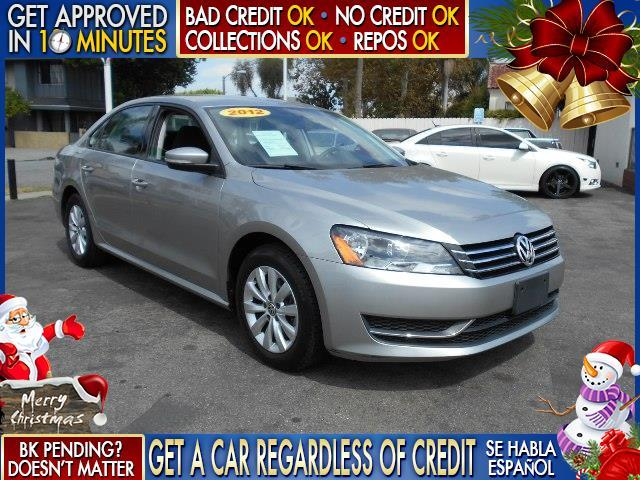 2012 VOLKSWAGEN PASSAT S PZEV 4DR SEDAN 6A W APPEARANC silver  welcome take a test drive or c
