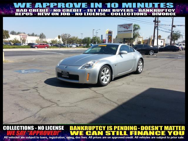 2004 NISSAN 350Z silver welcome take a test drive or call us if you have any questions you wo