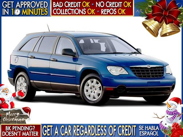 2008 CHRYSLER PACIFICA TOURING 4DR WAGON blue  welcome take a test drive or call us if you hav
