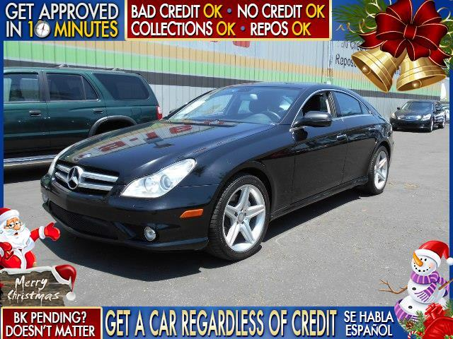 2011 MERCEDES-BENZ CLS-CLASS CLS550 4DR SEDAN black  welcome take a test drive or call us if y