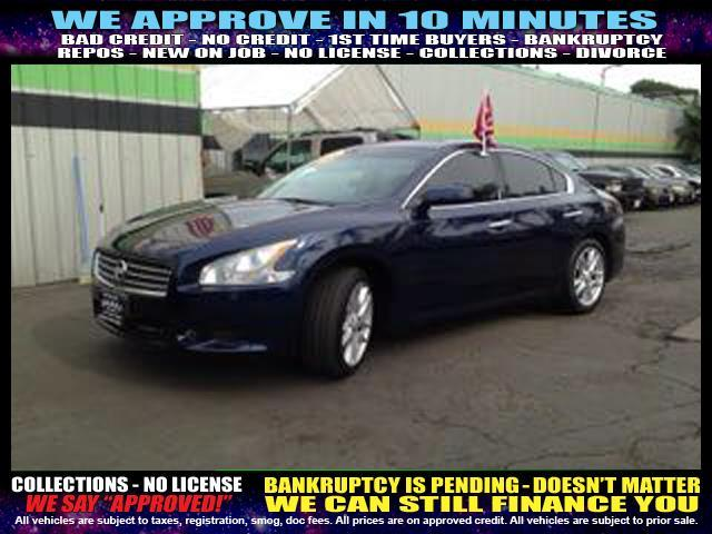 2010 NISSAN MAXIMA blue welcome take a test drive or call us if you have any questions you wo