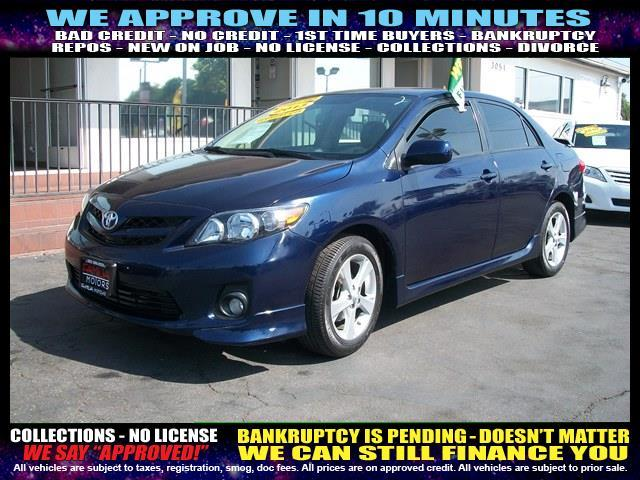 2013 TOYOTA COROLLA blue welcome take a test drive or call us if you have any questions you w