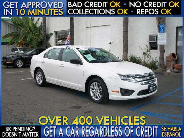 2012 FORD FUSION S 4DR SEDAN white  welcome take a test drive or call us if you have any quest